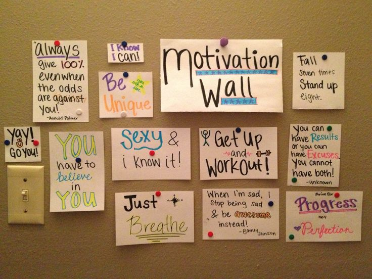 motivation-wall
