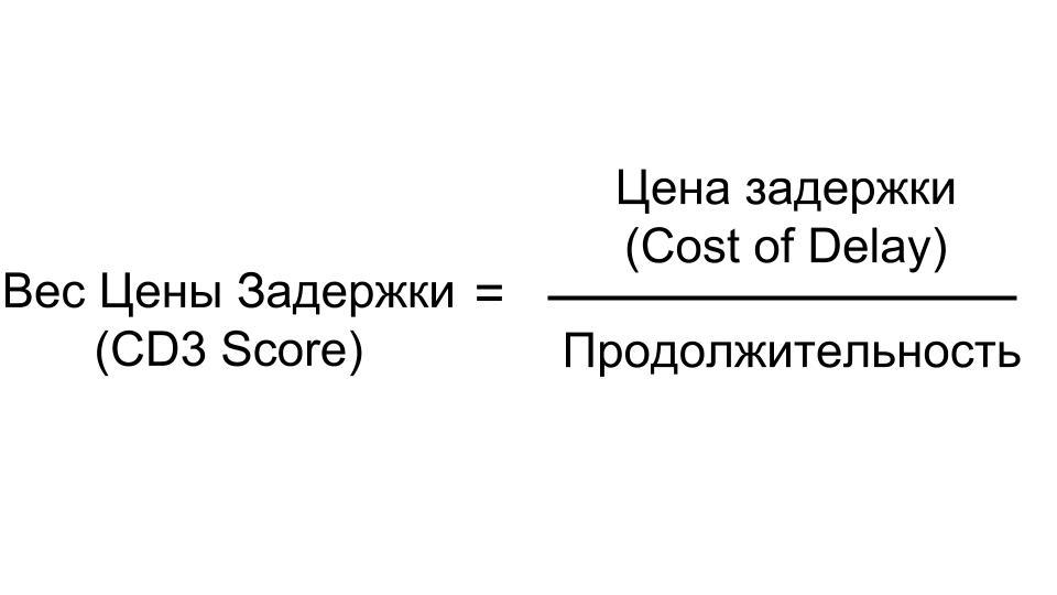 Как начать использовать цену задержки (Cost of Delay)